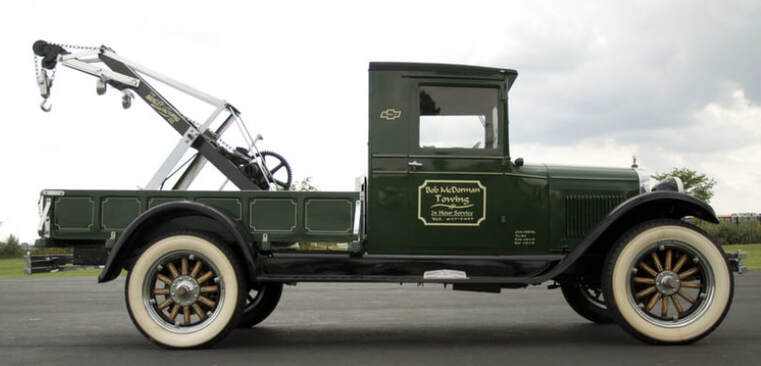 History of Tow Trucks